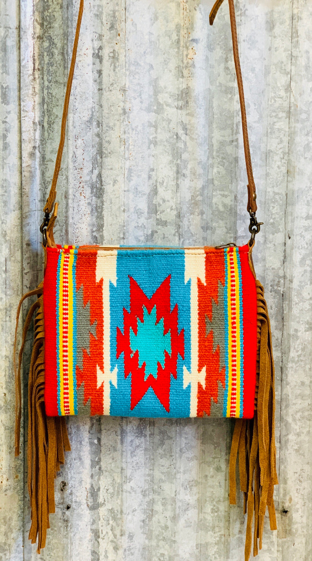 The Tortilla Flat Navajo Fringe Bag