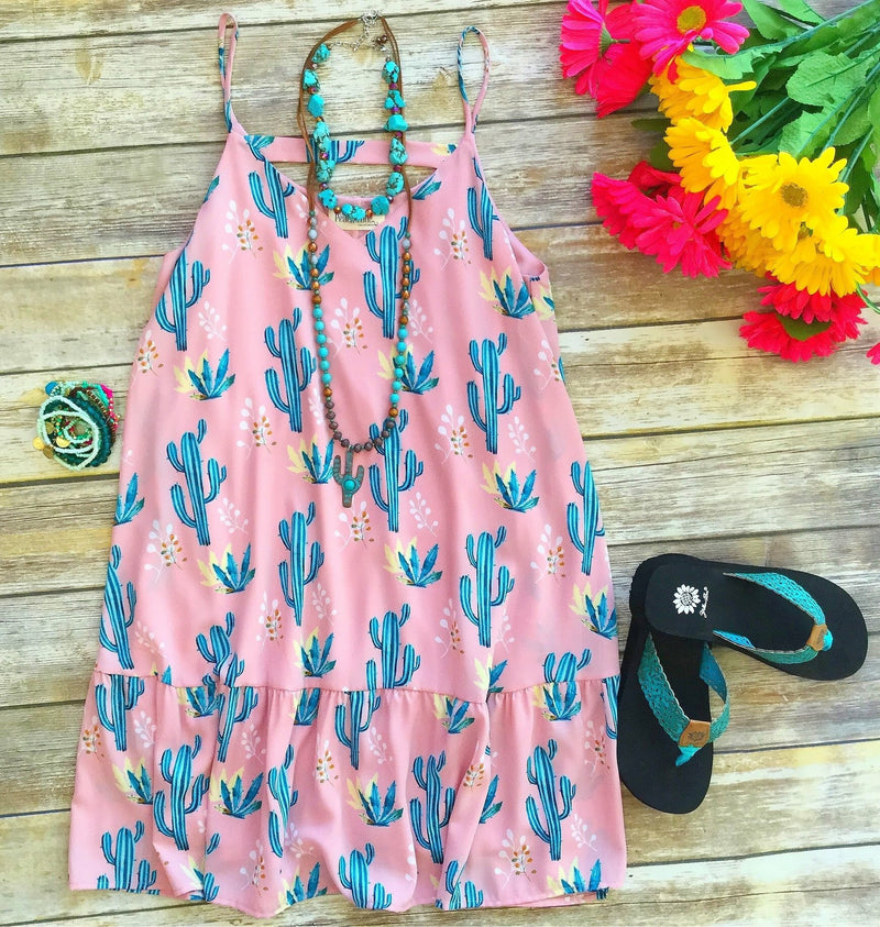 The Pink Cactus Dress