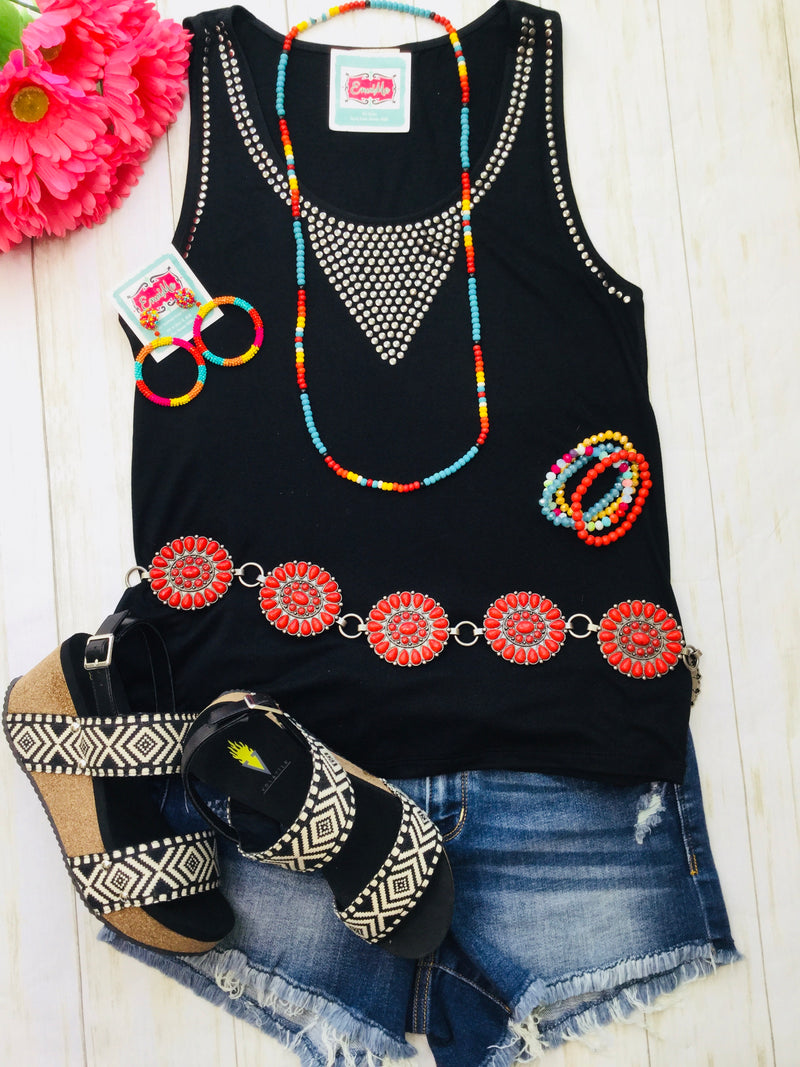 The Zorro Studded Tank