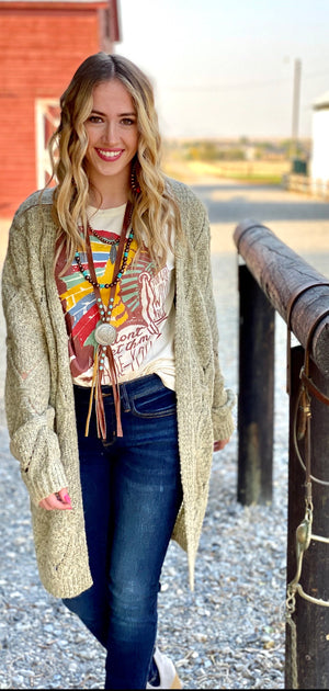 The Lily Sweater Cardigan