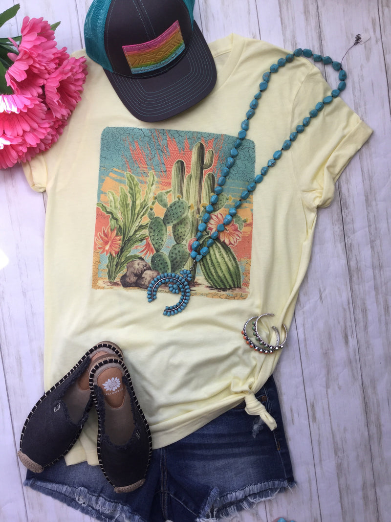 The Summer Cactus 🌵 Tee