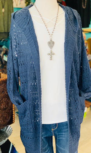 The Buffalo Blue Cardigan