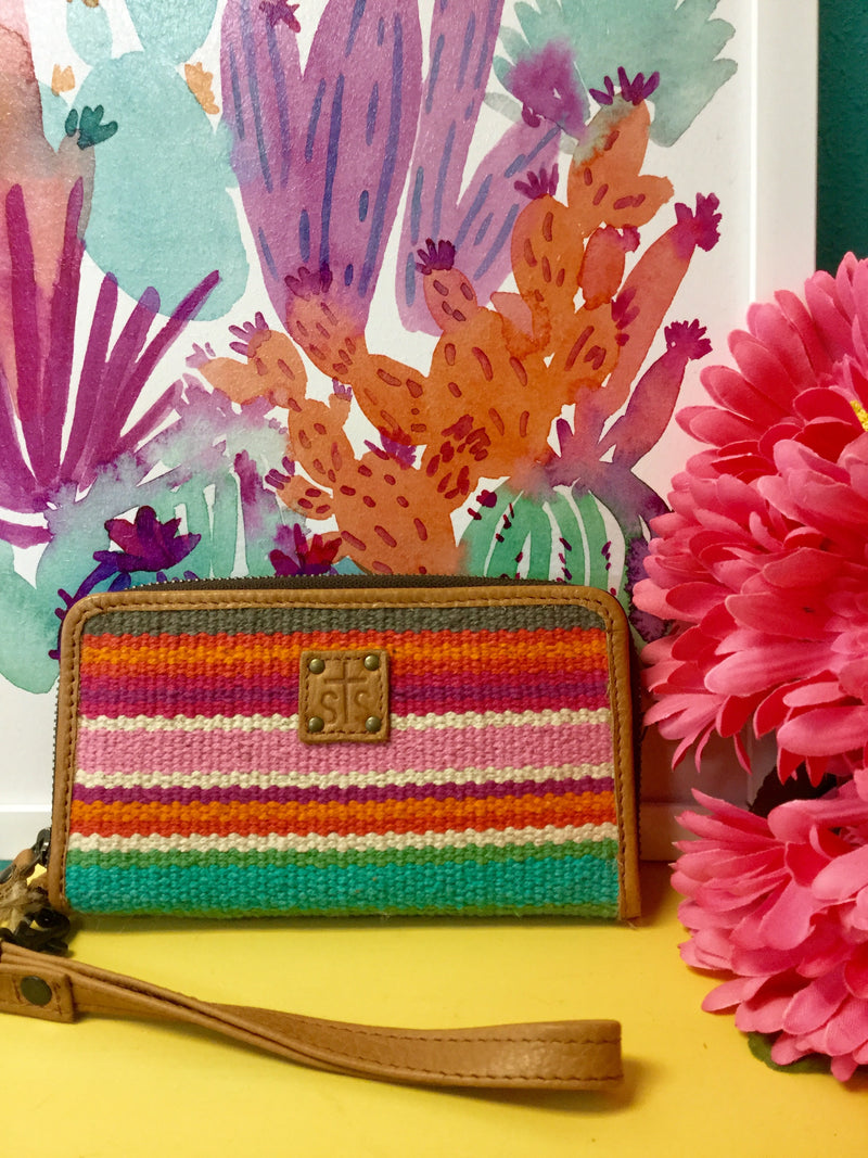 STS Serape Clutch Wallet