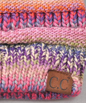 Fun CC Stripe Beanies!