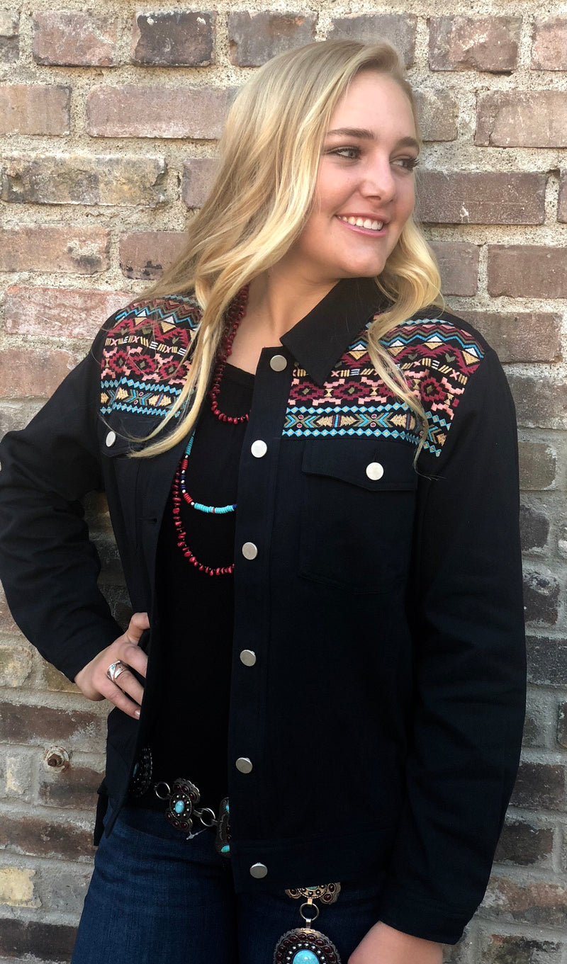 The  Embroidered Thunderbird Jacket