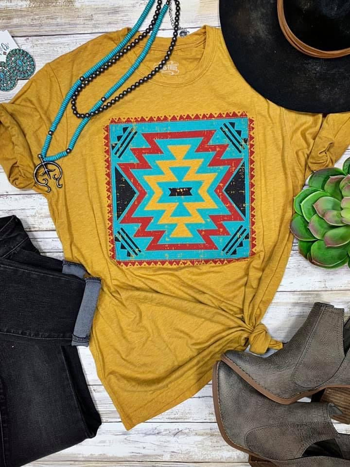 Tabba's Tribal Colors Tee