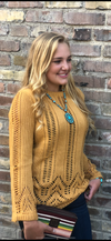 The Fall River Mustard Sweater