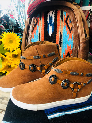 The West of the Pecos Concho Bootie