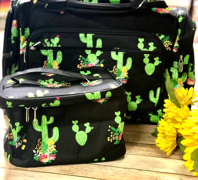 Black Cactus Make up Bags!
