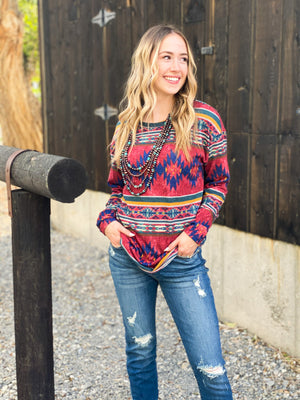 The Fall Denton Tribal Top