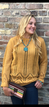 The Mustard Fall River Sweater