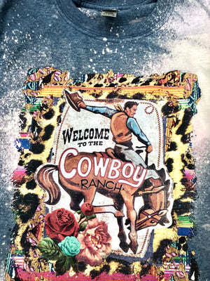 The Bleached Out Cowboy Ranch Tee