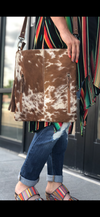 The Stanfield Cowhide Crossbody Bag