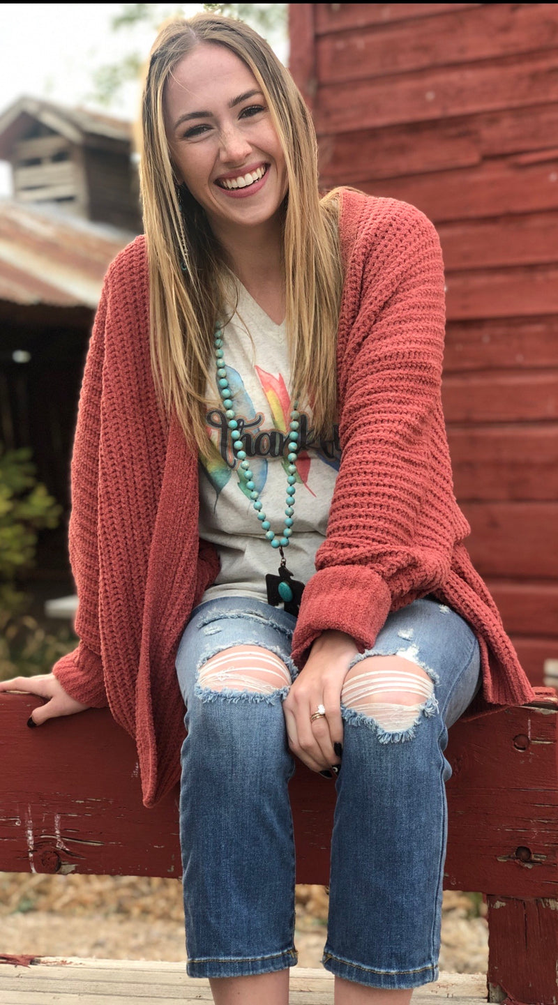 The Fall Sheridan Chenille Sweater Cardigan