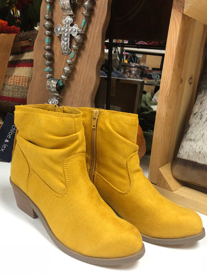 The Ole Yeller Mustard Bootie