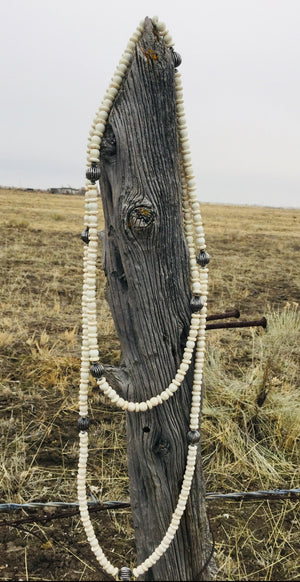 The Wachovia Southwest Bead & Bone Necklace