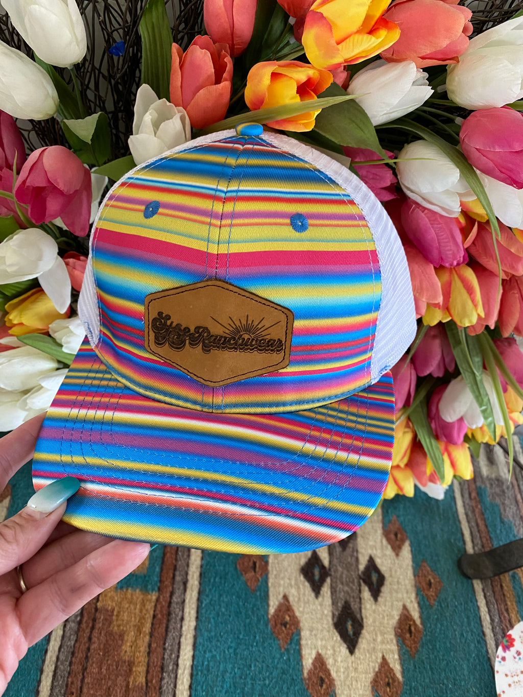STS Watercolor Serape Cap