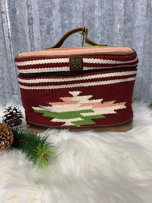 The Fiesta Wool Train Case