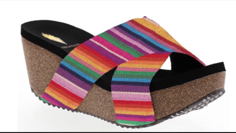 The Cimmaron Serape Sandal