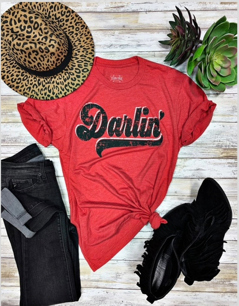 The Red Darlin Tee