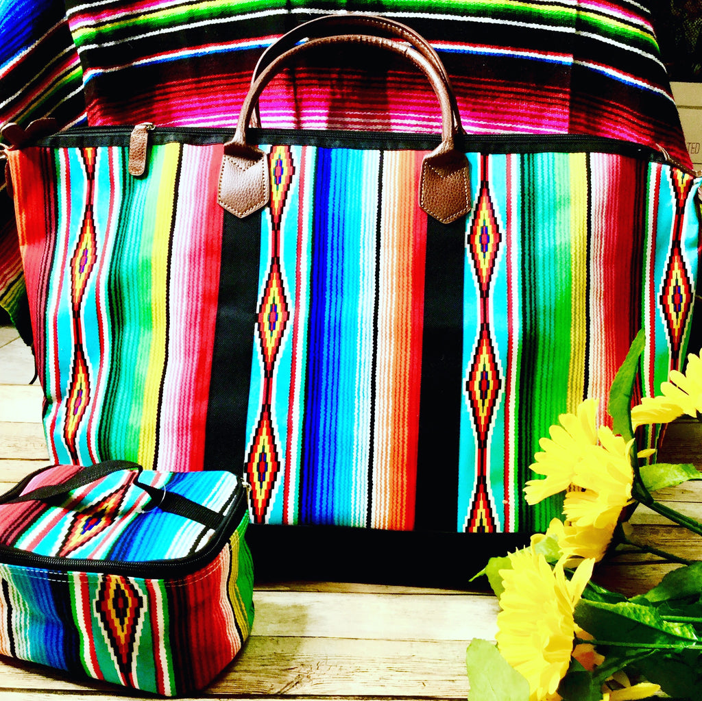 The Serape Weekender Bag