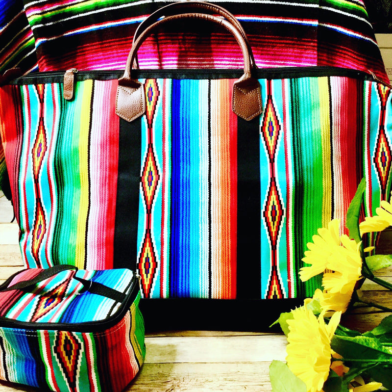Serape Weekender Travel Set