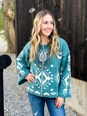 The Santaquin Aztec Sweater