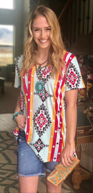 The South Of Yellowstone Tribal Top