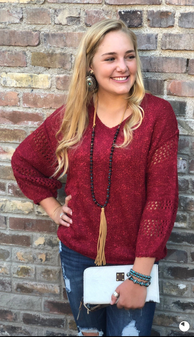 The Miles City Fall Sweater