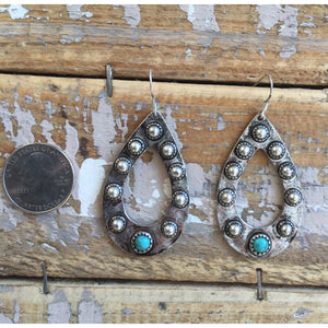 The Kennewick Silver w Turquoise Earring