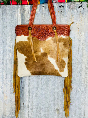 The Stanfield Cowhide Bag