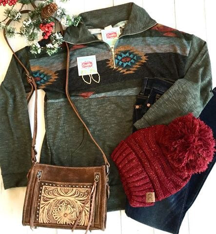 The Arohoe Tribal Pullover
