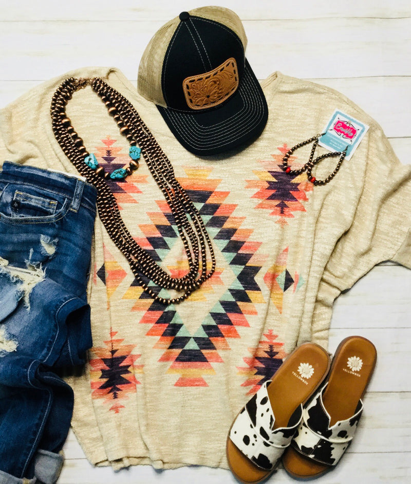 The Aztec Dreamin Top