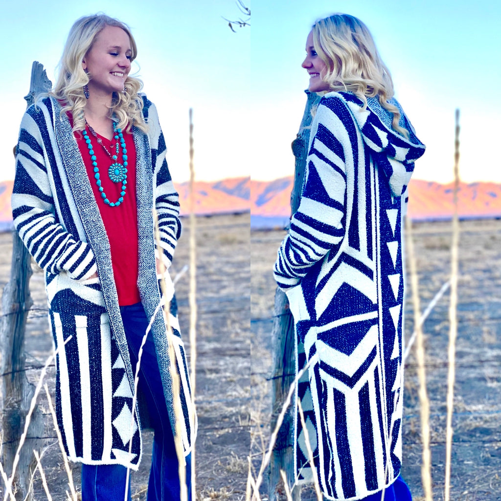 The Bozeman Tribal Cardigan