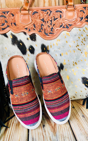 The Fall Serape Slip On