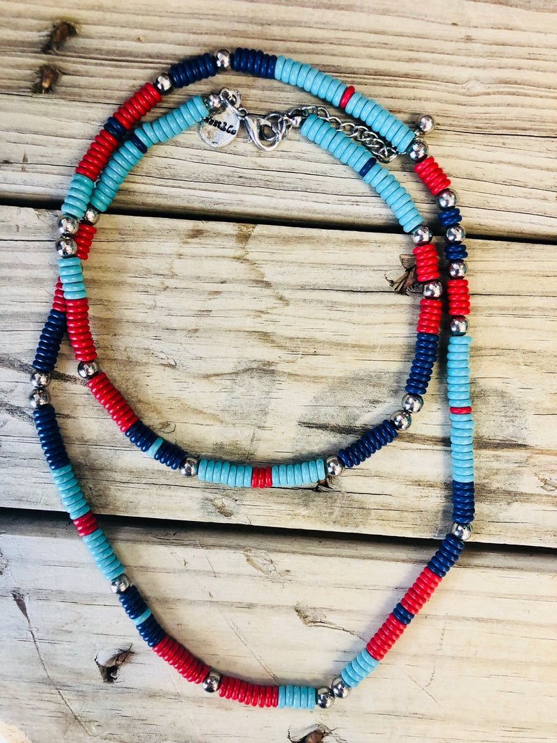 The Davis Bead Necklace