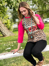 The Pink Cheetah Tribal Tee