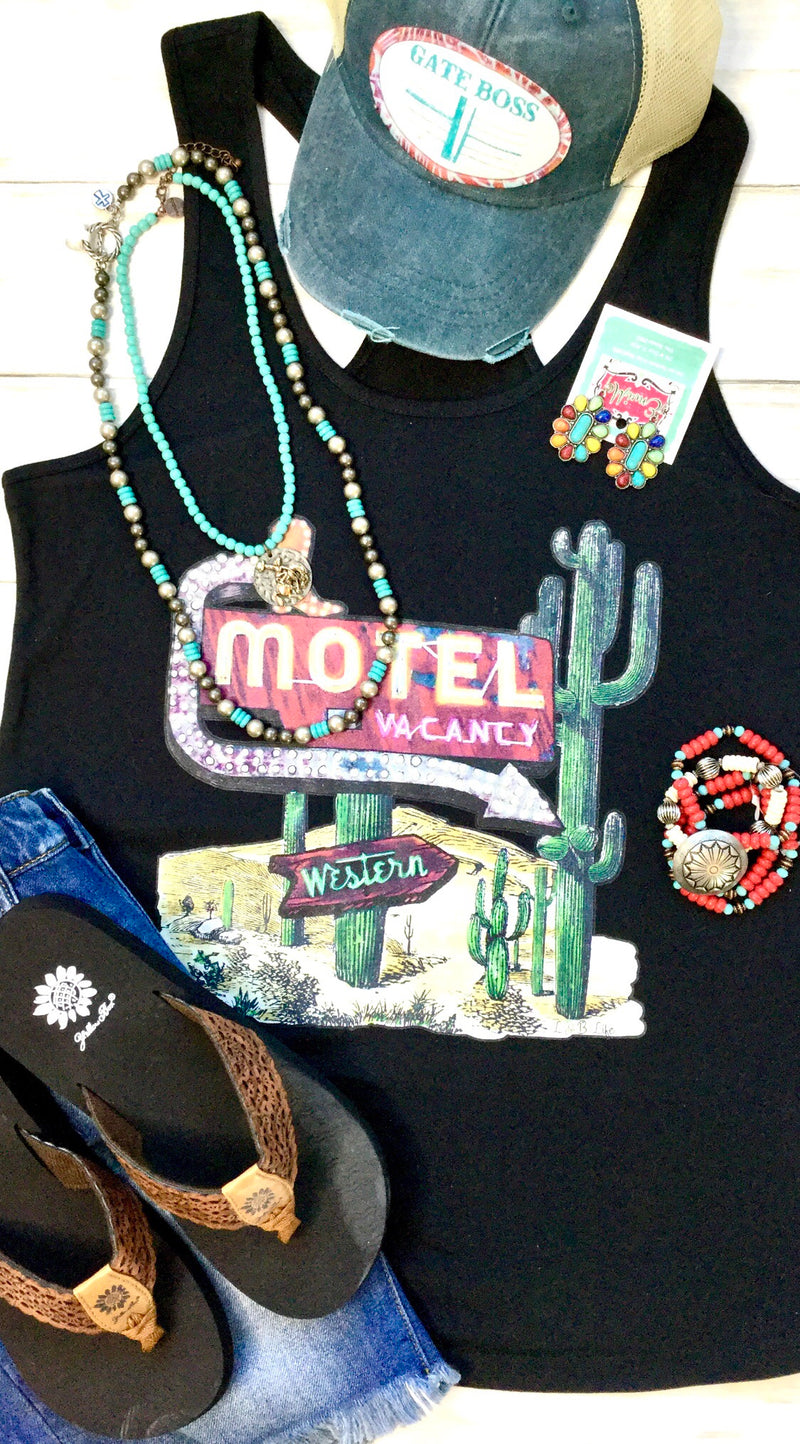 The Cactus 🌵 Motel Tank