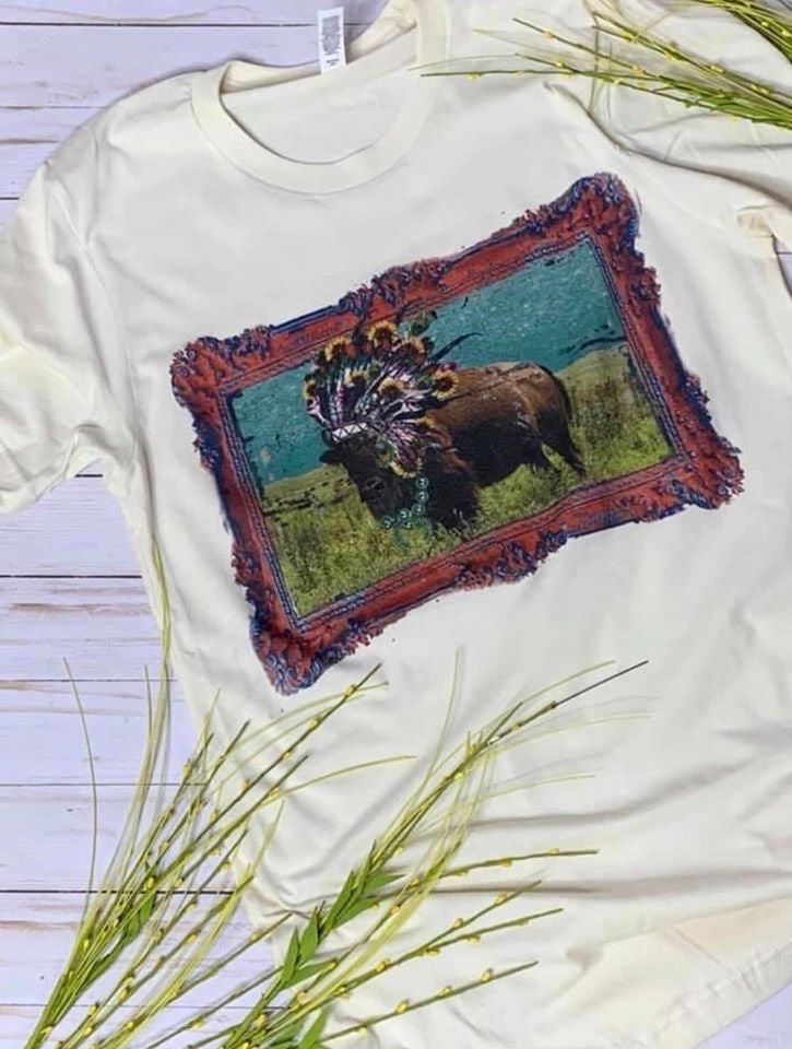 The Sunflower Buffalo Tee