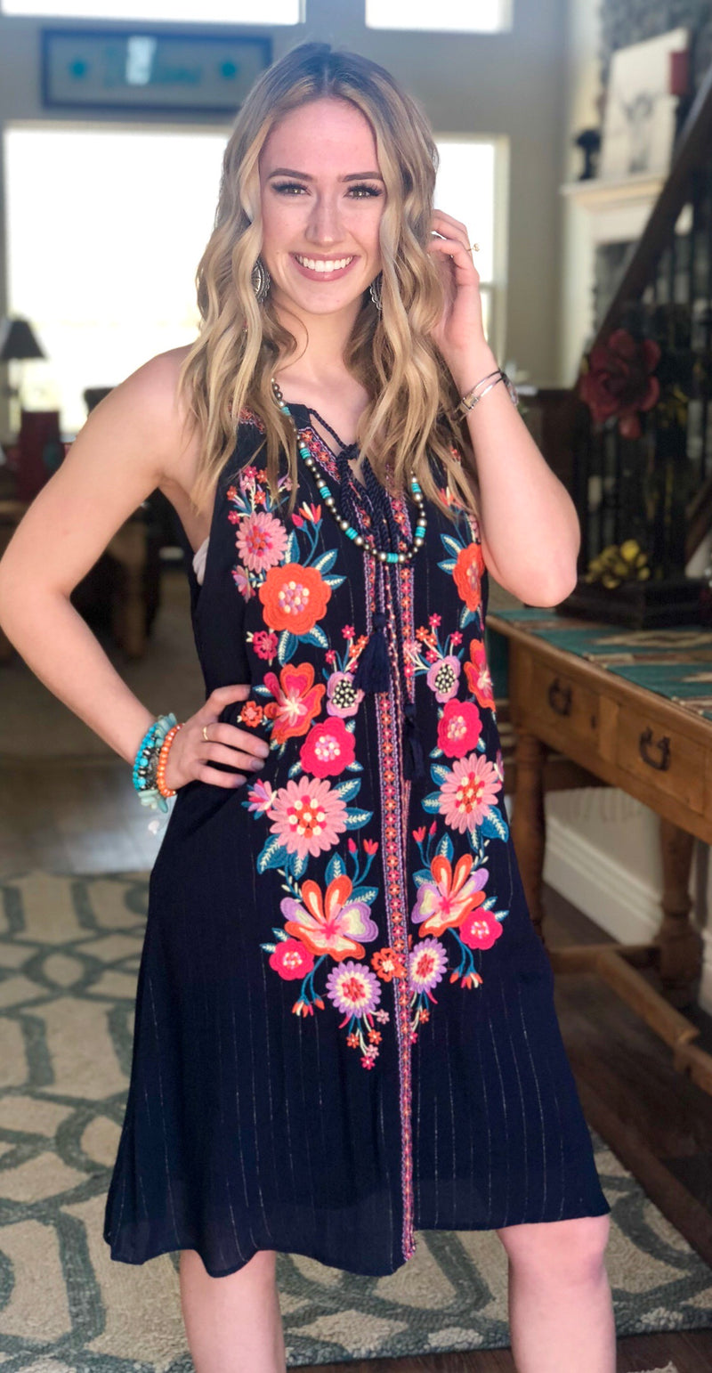 The Savannah Embroidered  Dress