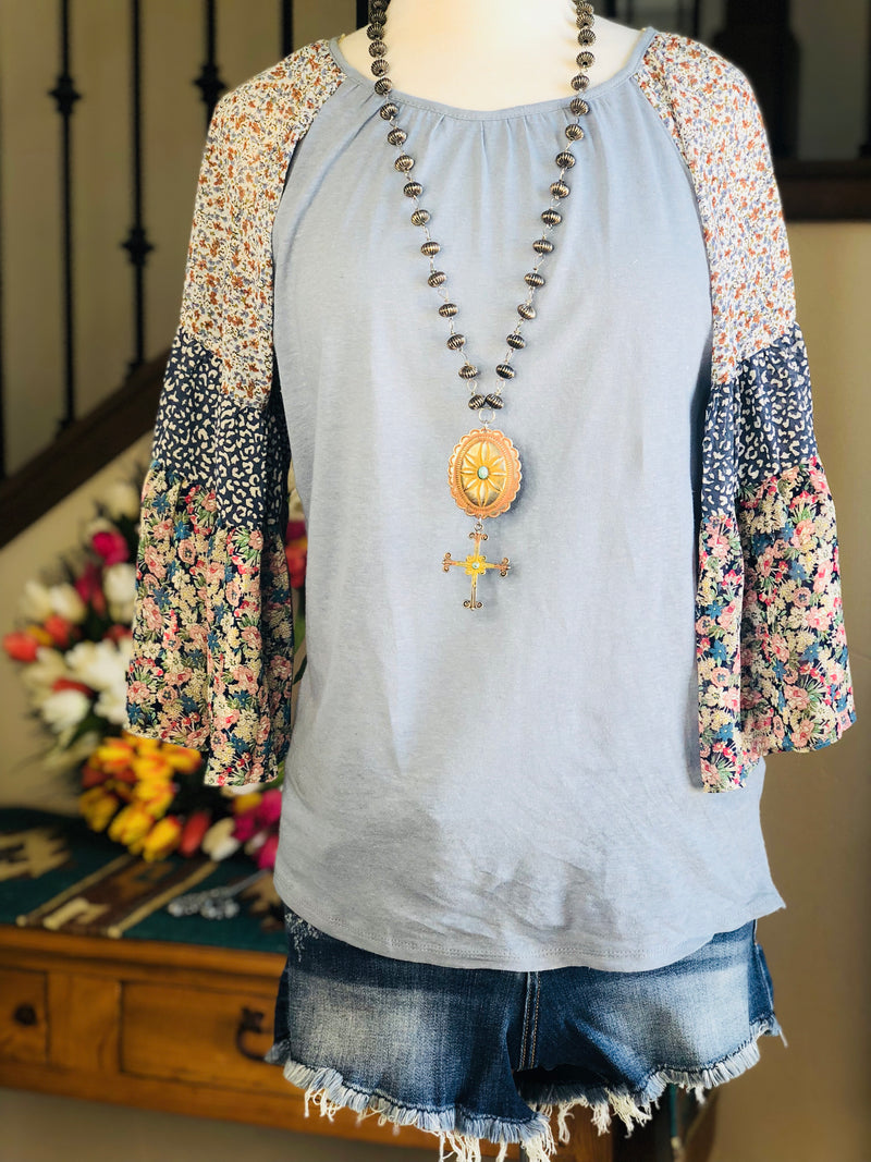 The Sausalito Floral Top