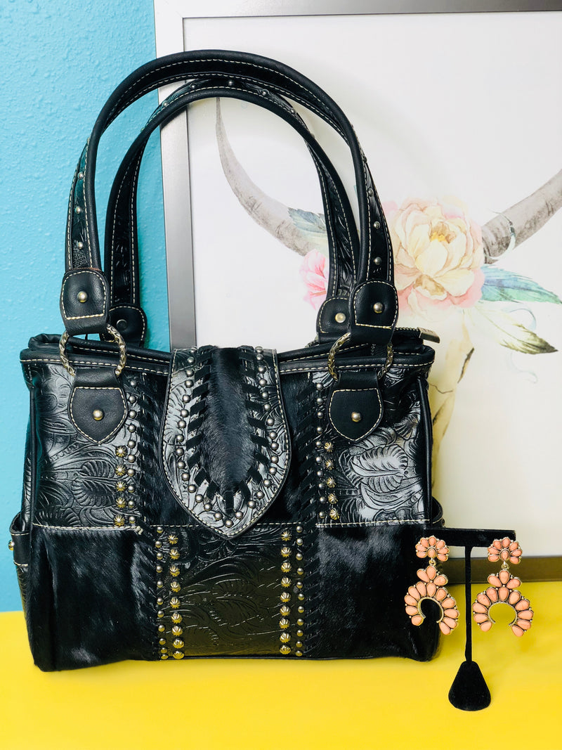 The Black Betty Fringe Concealed Carry Bag