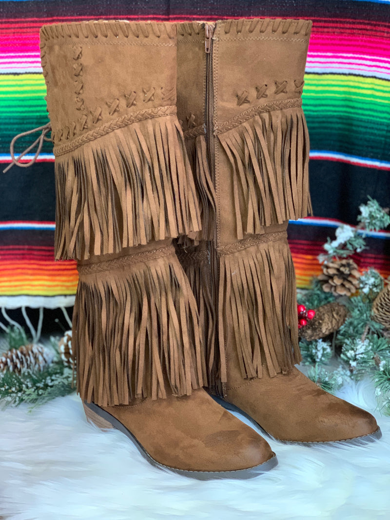 The Outrider Fringe Boots