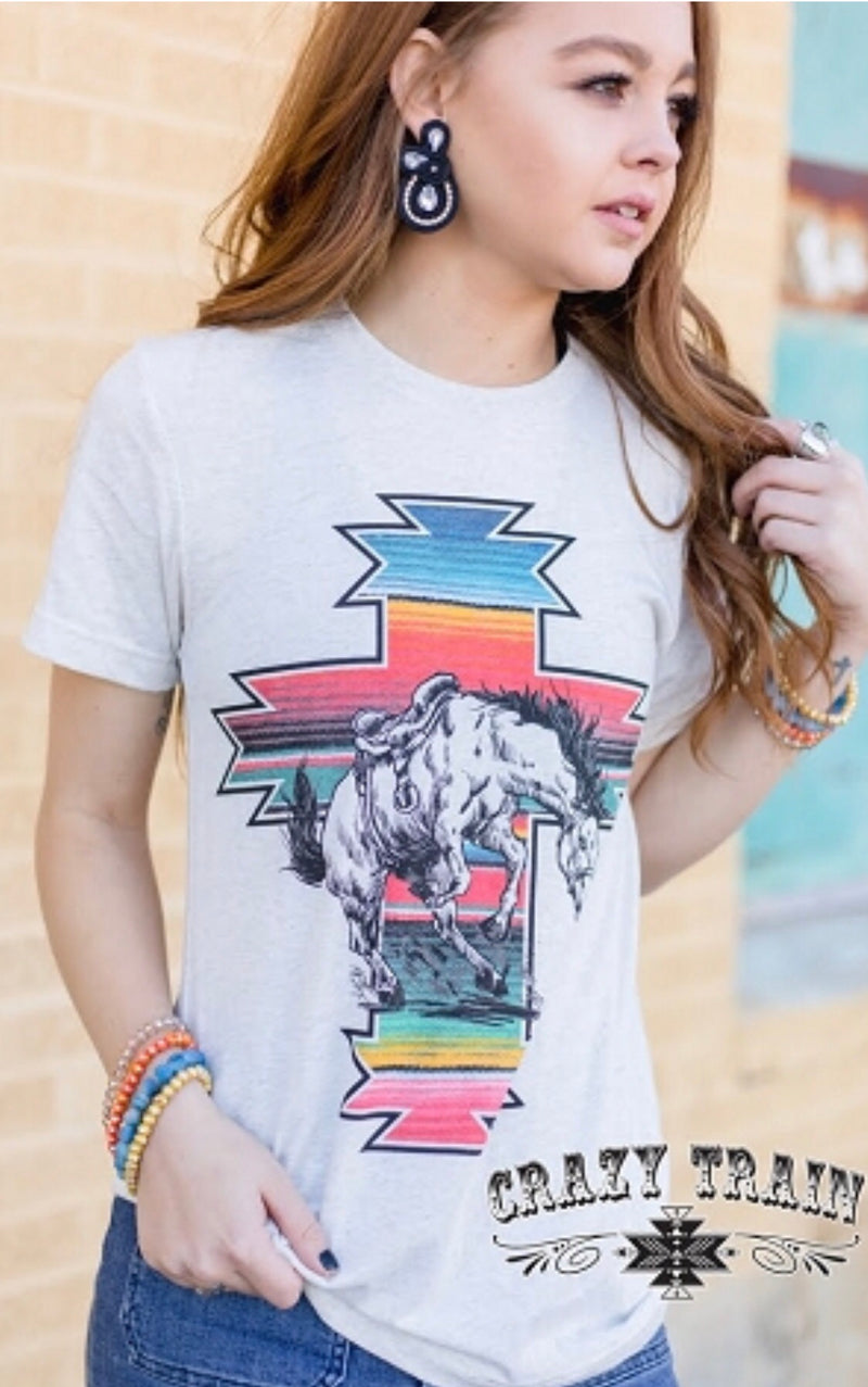 The Serape Bronc Tee