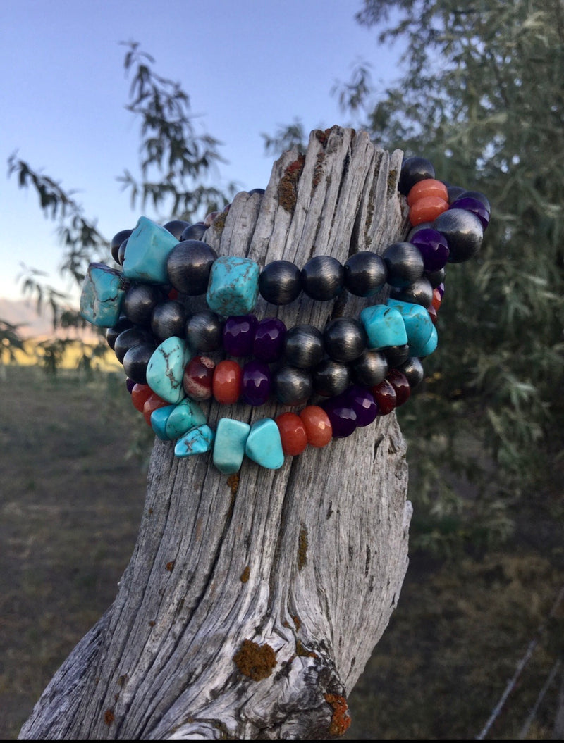 The Fall Colors Stack Bracelets
