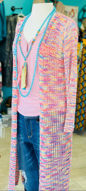 Lindy's Loose Weave Pretty Spring Cardi