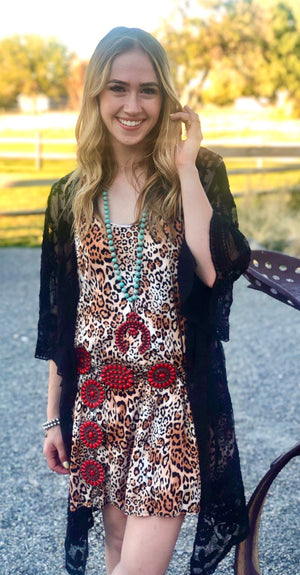 San Antone Cheetah Dress