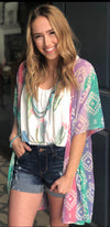 The Sunset Hill Tribal Kimono