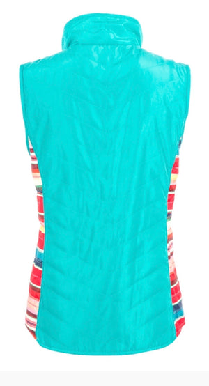 The Sweet Serape STS Turquoise Vest