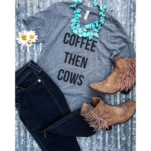 Coffee then Cows T